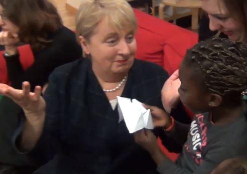 visite de Jenny Macklin ministre australienne de la famille